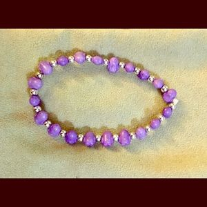 Purple & Silver Colored Bracelet!